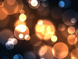 Blorange Bokeh Stock by contractcat