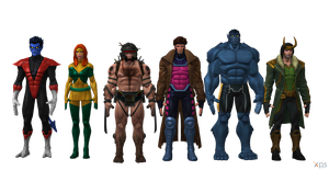MCoC XMen and Loki Pack by SSingh511