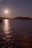 Sunset on the harbour by imroy