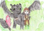The tribe of Paraven-Hiccup by jloves-pp