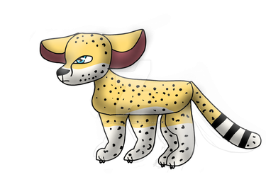 Cheetah Doodle by HowlingWolfChain