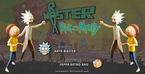 Rick and Morty - Papercraft (DOWNLOAD) by RavaMaster