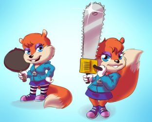 Conker-rule63 by Mr-Shin