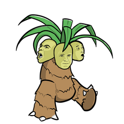 TPP Red 151 Diploma Collab: Exeggutor by WhoaConstrictor
