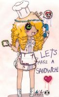 .::Lets make a sammich::. by iPodish