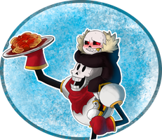Art Trade | Spaghetti Time by InfiniteTale00