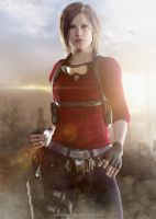 I'm ready! - Claire Redfield by FrankAlcantara