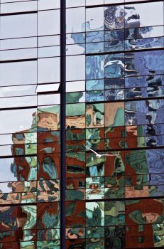 Urban Reflections VI by TenthMusePhotography