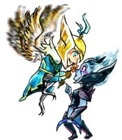 Skywrath Mage x Vengeful Spirit - Dota 2 by JunKazama15