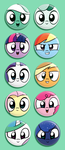 MLP Buttons by Dori-to