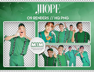 Pack PNG //  J-Hope 10 by MidnightInMemories