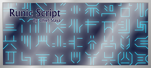 Runic Script by Chief-Slaya
