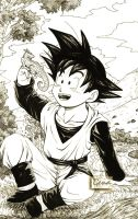 'My forever friends'--Goten by genaminna