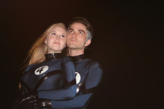 Fantastic Four: Invisible Woman and Mr.Fantastic by baglezz750