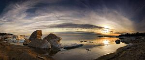 Spring Thaw at Sawpit Bay by tfavretto