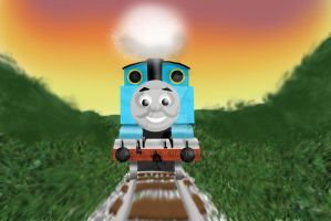 Thomas (Photoshop Test) by Calebtrain