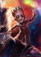 Baby groot by Quan-Xstyle