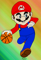 Mario Basketball by julie090995