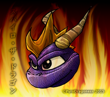 Latest Spyro (Classic) Drawing by PyroDragoness