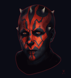 Darth Maul / Ray Park (Gif) by Woodvile