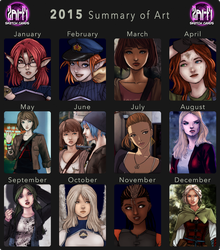 2015 Art Summary by Zairyo