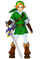 [MMD] Link by Snorlaxin