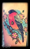 Bird by state-of-art-tattoo