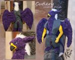 Custom plushie: Hippogryph by Phoeline
