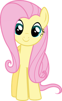 Happy Fluttershy by BaumkuchenPony