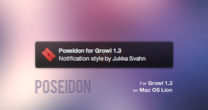 Poseidon for Growl by Gocom