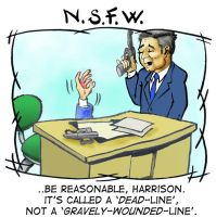 NSFW: The Truth bout Deadlines by sethness