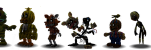 Fnaf 3 Characters Canon by Educraft