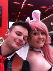 Me and BattleBunnyBeth by Collioni69