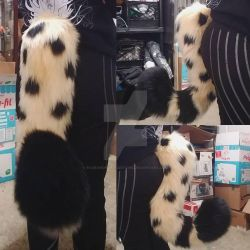Evillecon Tail Commission: Cheetah Tail by RageandRoarCustoms