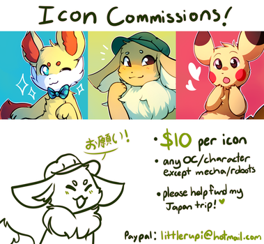 Icon Commissions (CLOSED) by honrupi