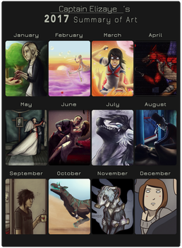 2017 Summary Of Art by CPT-Elizaye