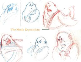 The Cheshire Monk Expressions by Heliodus