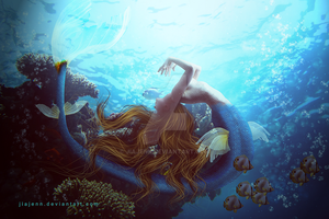 Another Side Mermaid by jiajenn