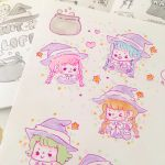 Witchy doodles by pomifumi
