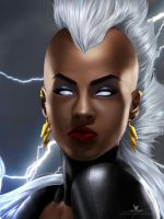 Storm X-men by LaikenDesignz