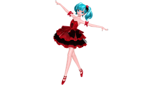 PDAFT/PDFT PS4 STYLE lilia Miku by ProjectNeoloid
