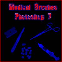 Medical Brushes Photoshop 7 by Forbidden-Stock