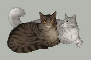 Purebreds - Dustpelt and Ferncloud by AnnMY