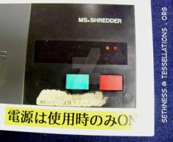 Engrish: Ms Shredder by sethness