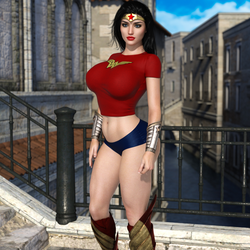 Casual Wonder Woman by HeroineAdventures