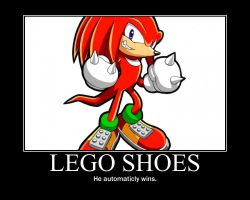 Lego Shoes by Blaisie