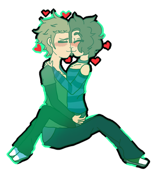 You Really Open Me Up.:MichaelXPhilip:. by Bubble-Empress