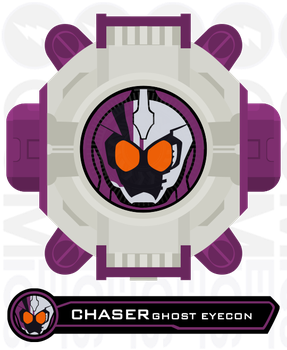 Fan Eyecon - Chaser Ghost Eyecon by CometComics