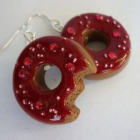 DONUT EARRINGS by theporcelainrose