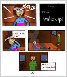Undertale: The Rescue Op - Page 2 by CrackerHumps